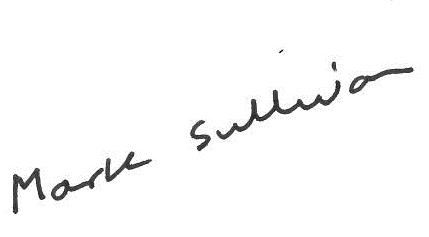 mark sullivan signature